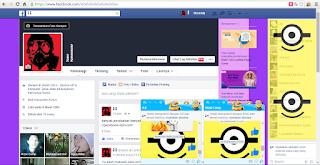 Trik Cara Merubah Tampilan Chat Obrolan Facebook
