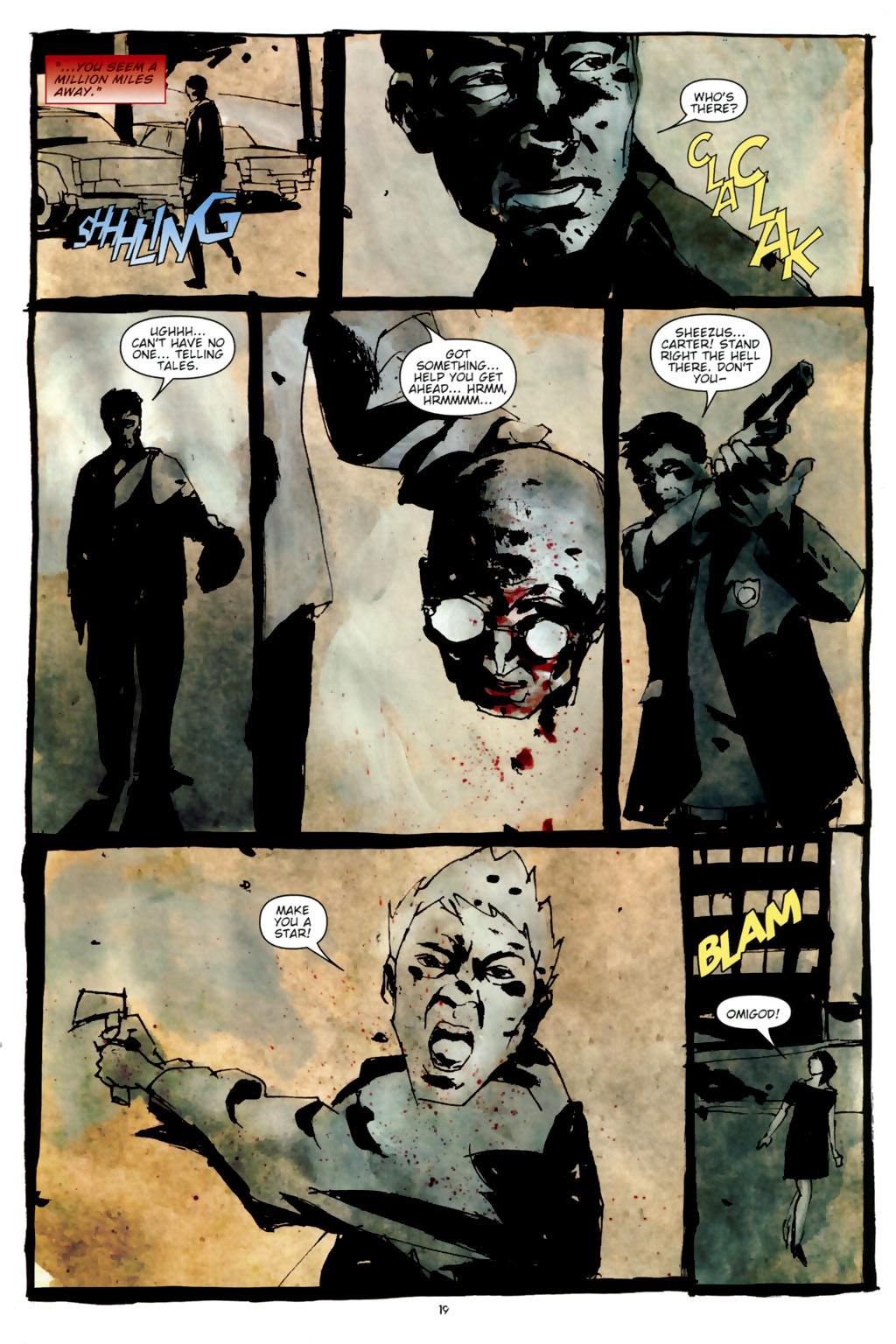 Read online Silent Hill: Dead/Alive comic -  Issue #3 - 21