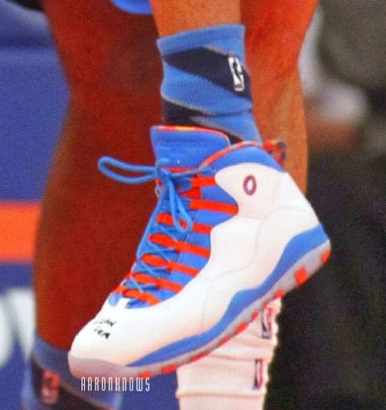 hot sale online 7f8f2 ea5a4 THE SNEAKER ADDICT: Air Jordan 10 Russell Westbrook ...