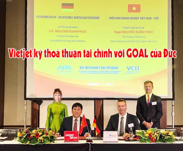 Vietjet ký thoả thuận tài chính máy bay với GOAL Đức