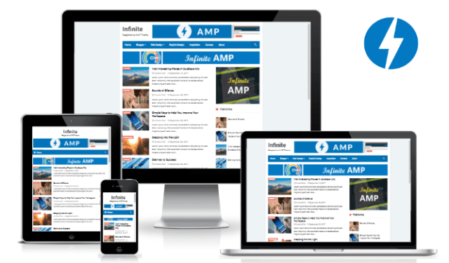 5 Best Google AMP Blogger Template 2019 + SEO Friendly