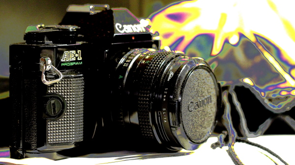 Canon AE-1 Program, View