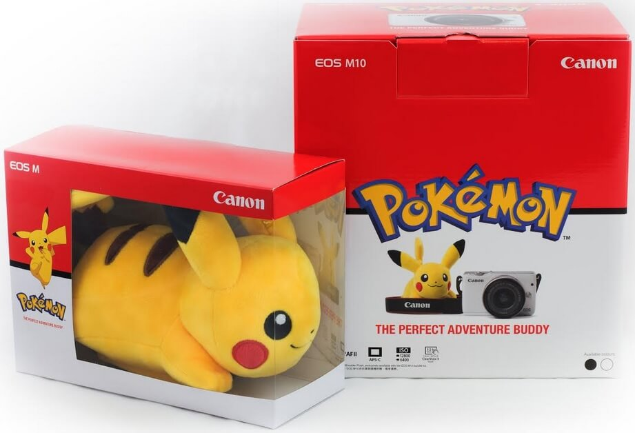 Canon Unveils Pikachu-Bundled EOS M10 for Toy Travel Photography