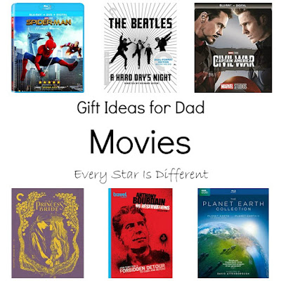Gift Ideas for Dad-Movies
