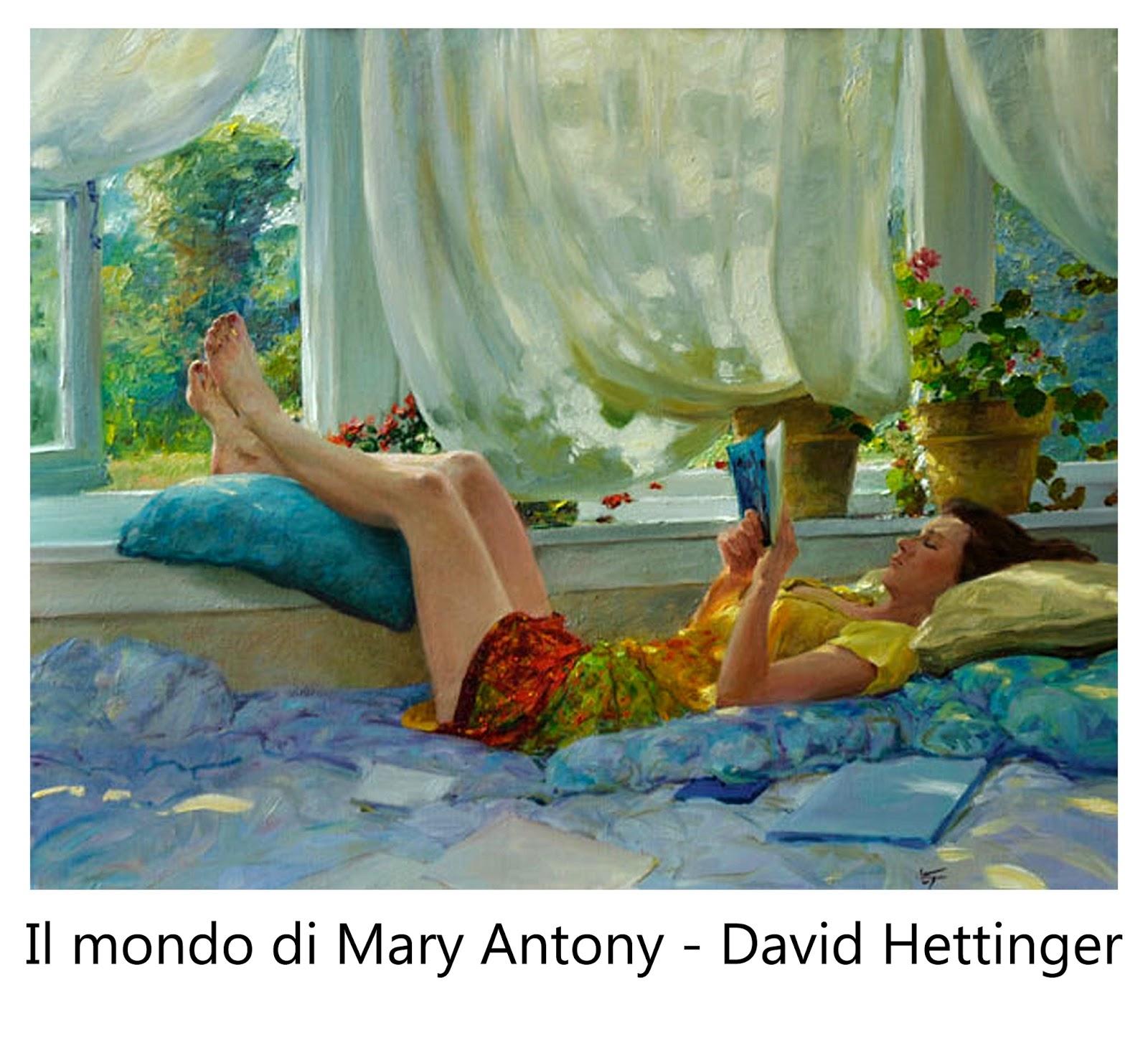 Arti Libri Nell Arte Il Mondo Di Mary Antony David Hettinger