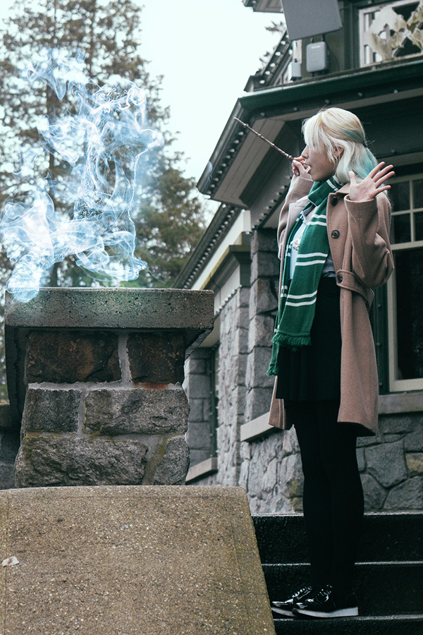 slytherin house outfit