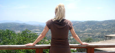 Pogled na Messara oblast. Ostrvo Krit
