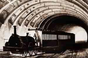 Первая линия метрополитена в Лондоне