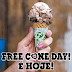Free Cone Day 2019 - Sorvete grátis!