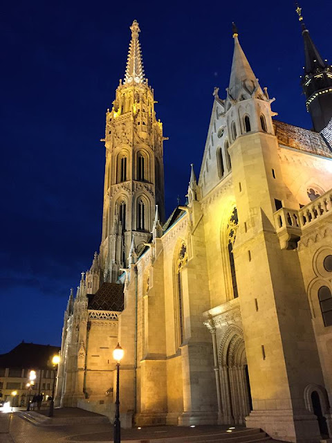 Mattias Church in Budapest