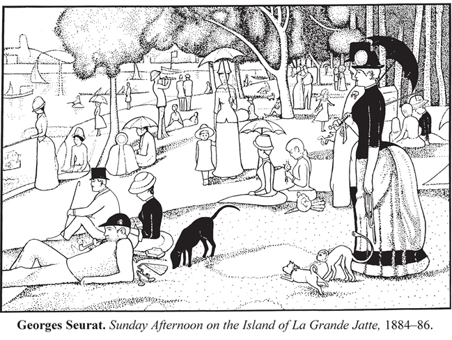 Seurat, A Sunday on La Grande Jatte