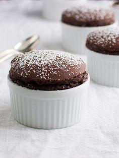 Chocolate Soufflé, easy, tastful, delicious...!