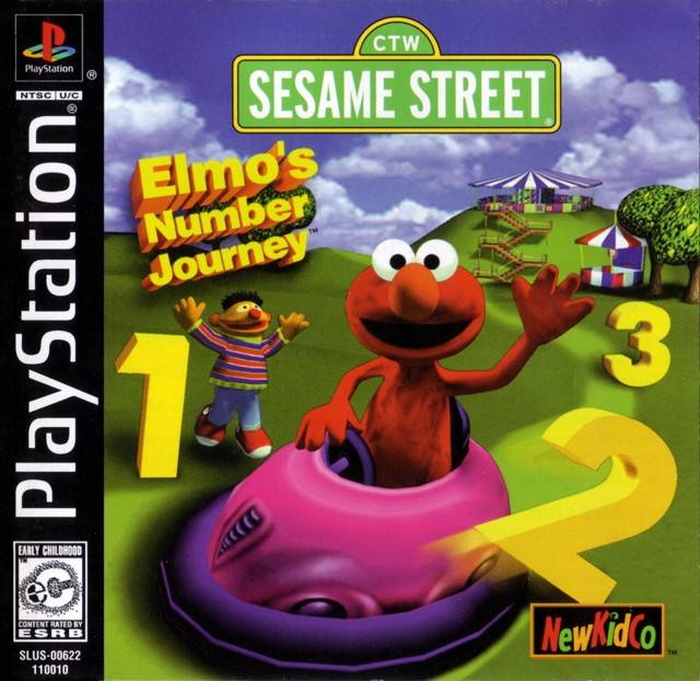 Sesame Street - Elmos Number Journey - PS1 - ISOs Download