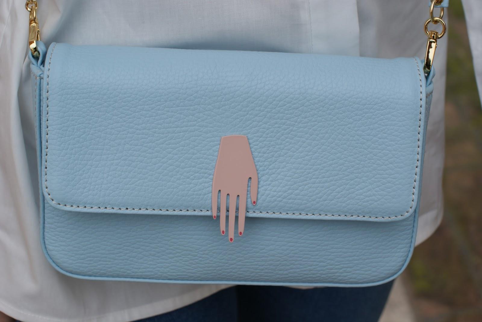 Lazzari store serenity bag on Fashion and Cookies fashion blog, fashion blogger style