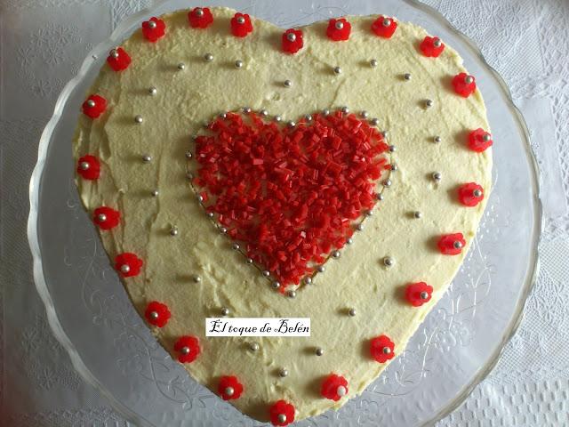 Love cake de regaliz