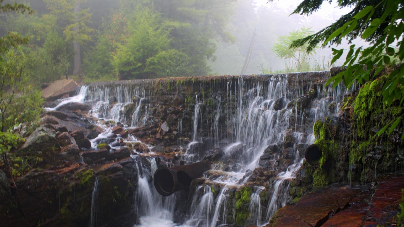 Water Fall HD Latest Wallpaper 1080p