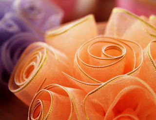 mawar organdi bunga artificial