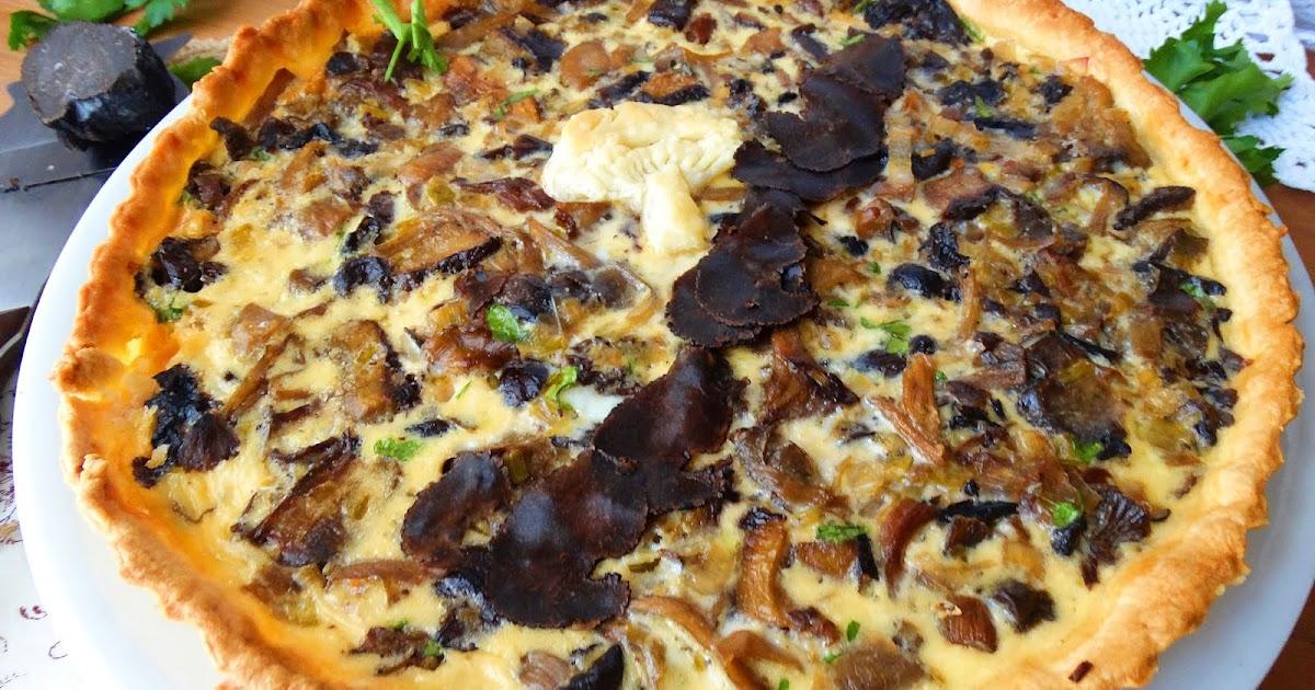 Blog de cuina de la dolorss quiche de setas con aroma de for Arroz con setas y trufa