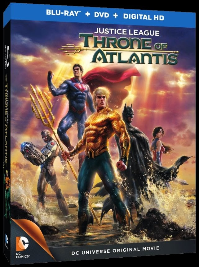 Justice League Throne of Atlantis Wallpaper Click on The Poster to