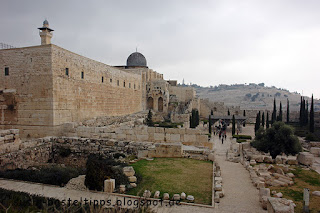 Jerusalem- Ausgrabungsstätte, Foto von unabhängiger Stampin' Up! Demonstratorin in Coburg