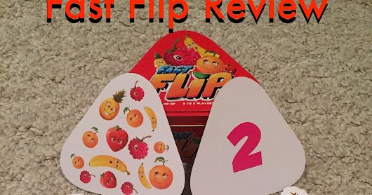 Fast Flip from Blue Orange Games {Review} | A Disney Mom's Thoughts