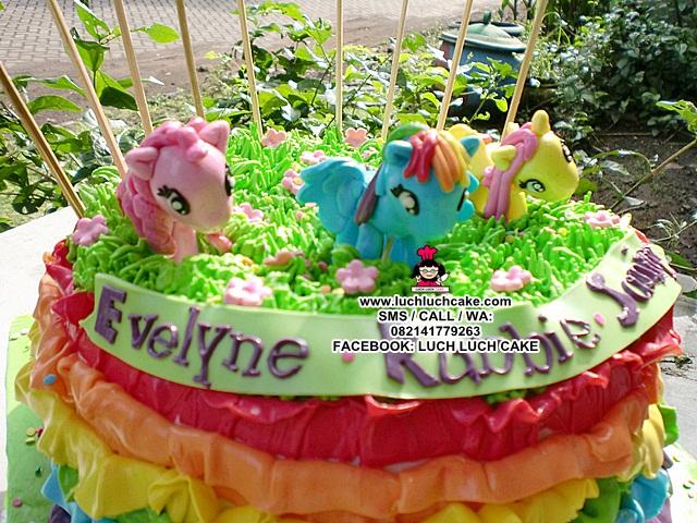 Luch Luch Cake Kue Tart My Little Pony Daerah Surabaya
