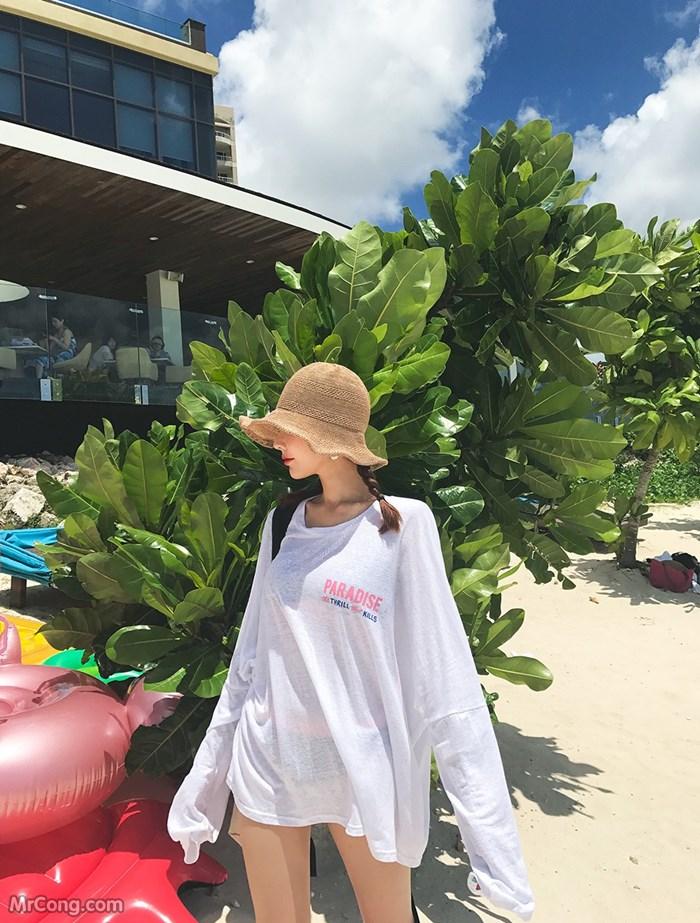 Image Kim-Hye-Ji-Hot-collection-06-2017-MrCong.com-014 in post Người đẹp Kim Hye Ji trong bộ ảnh thời trang biển tháng 6/2017 (92 ảnh)