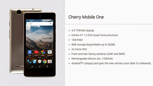 Cherry Mobile One Stock Rom