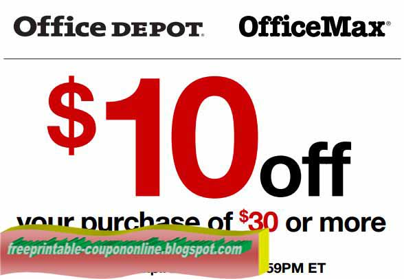 Office max coupon printable august 2018