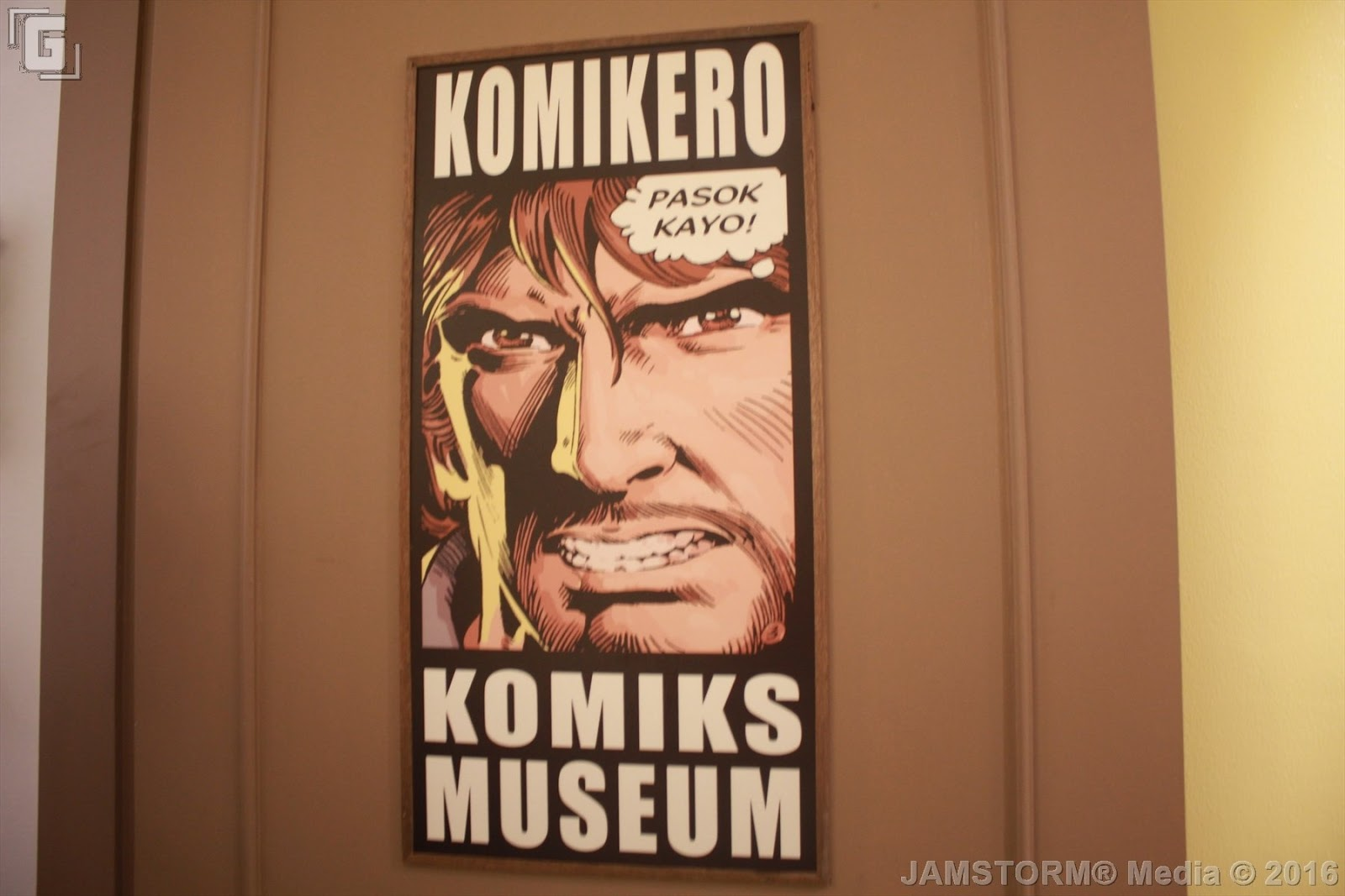 08142016 The Komikero Komiks Museum Was One Of Gerry Alanguilans Dreams In Putting Up A Place Where People Would Remind Everyone How