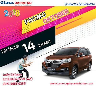 Promo Daihatsu Xenia Oktober 2018