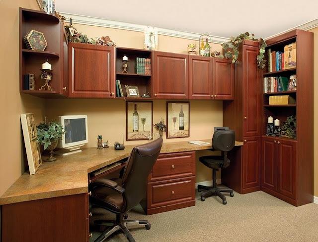 best modular wood home office furniture sets for sale