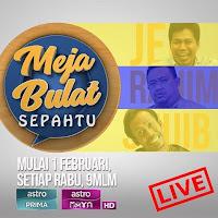 Meja Bulat Sepahtu Episod 3-(Artis Siti Elizad & Sharifah shahirah)