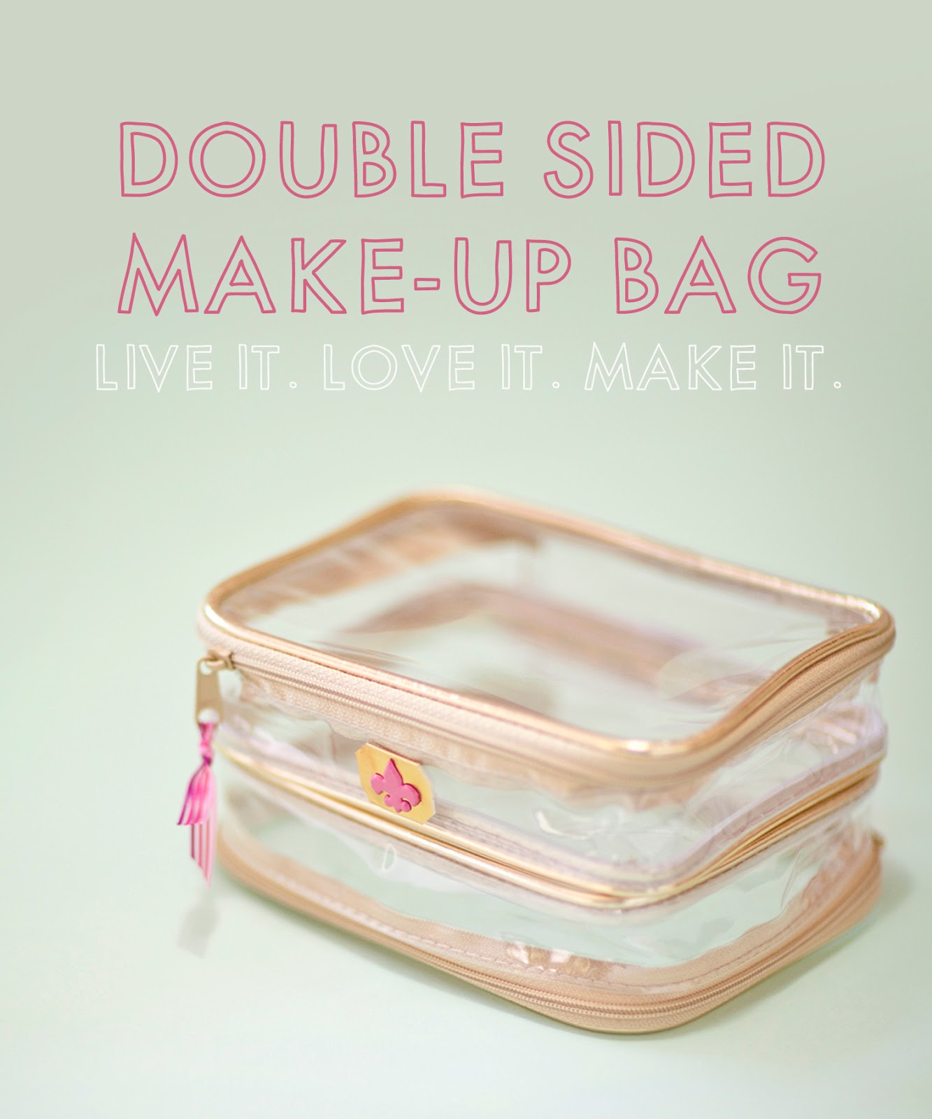 I Was Watching A You Video From The Beautiful Ingrid Miss Glamorazzi Few Months Ago And She Featured Really Handy Double Sided Travel Make Up Bag