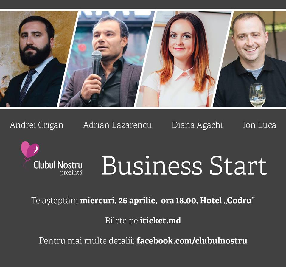 clubul nostru, evenimente de business chisinau