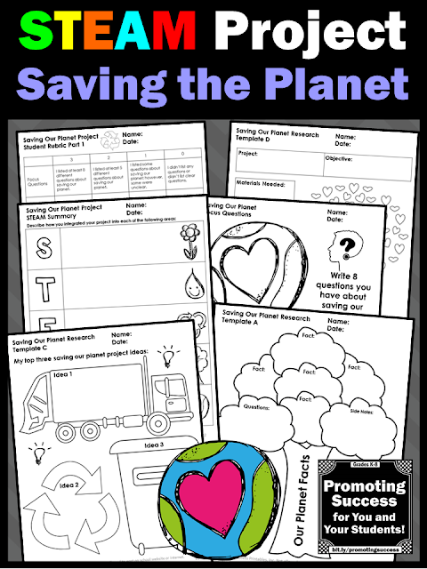 Promoting Success: STEAM Activities and Project Ideas for