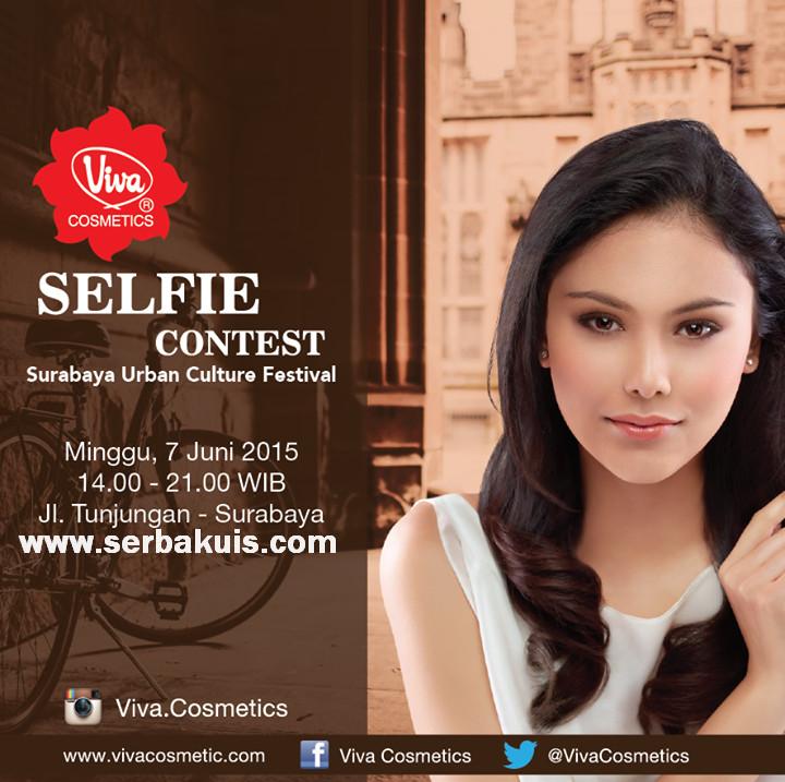 Viva Cosmetics Selfie Contest Berhadiah 10 Goodie Bag
