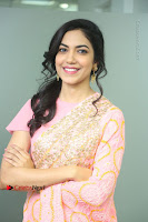 Actress Ritu Varma Pos in Beautiful Pink Anarkali Dress at at Keshava Movie Interview .COM 0093.JPG