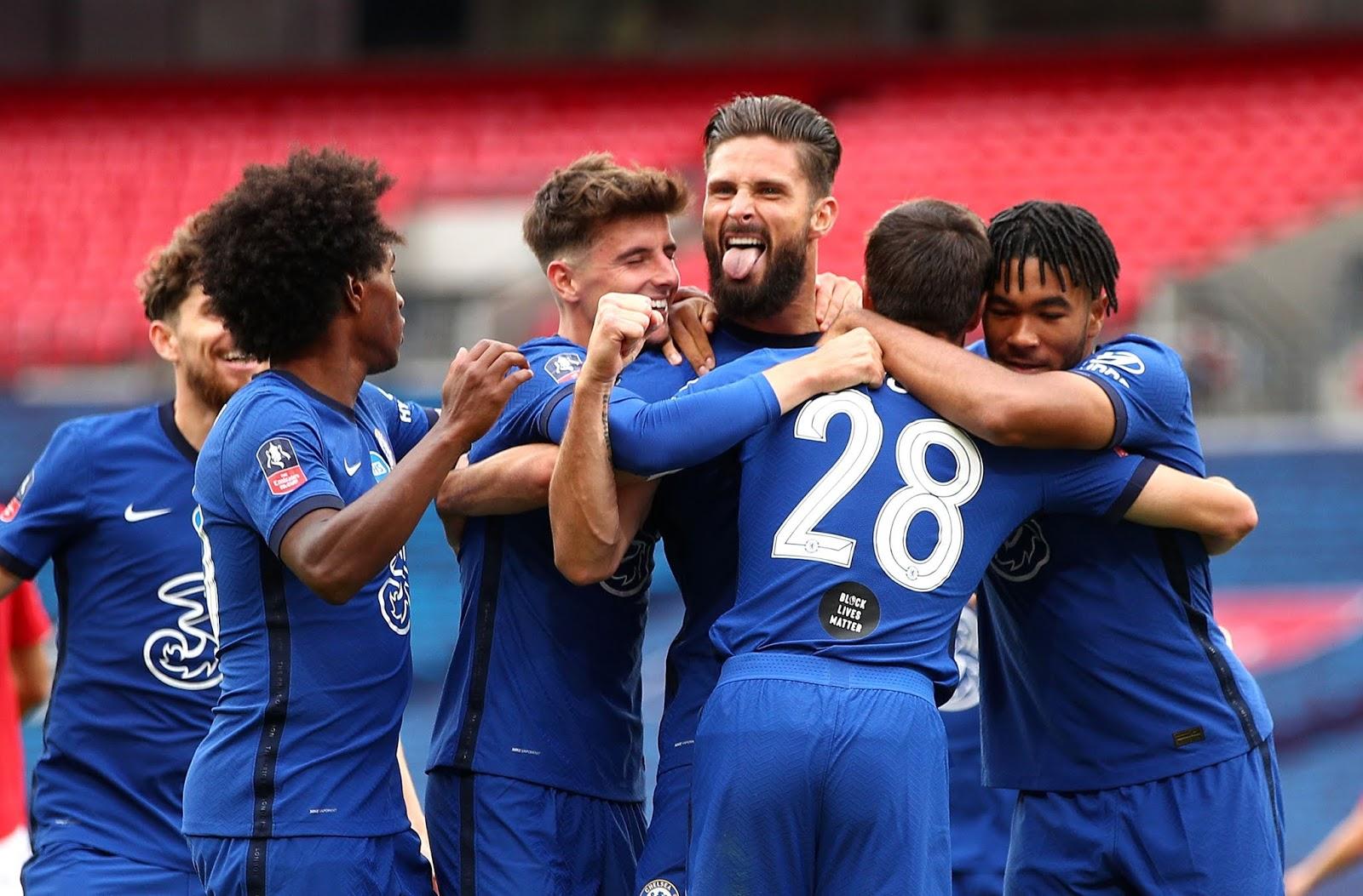 Chelsea se clasificó a la final de la FA Cup tras vencer al Manchester United