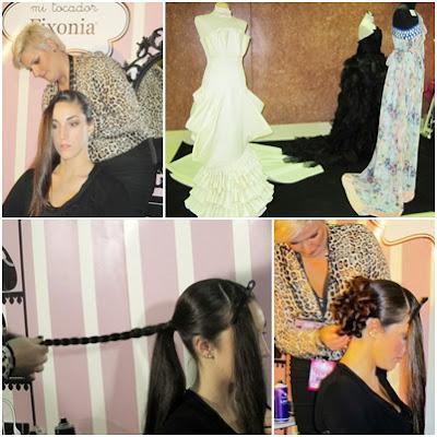 peinados y moda en la beauty fever sevilla
