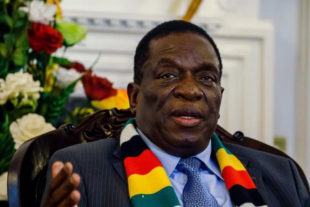 Zimbabwe President Emmerson Mnangagwa (File: AFP)