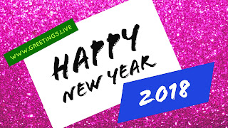 Creative new year 2018 Greeting cards from www.greetings.live