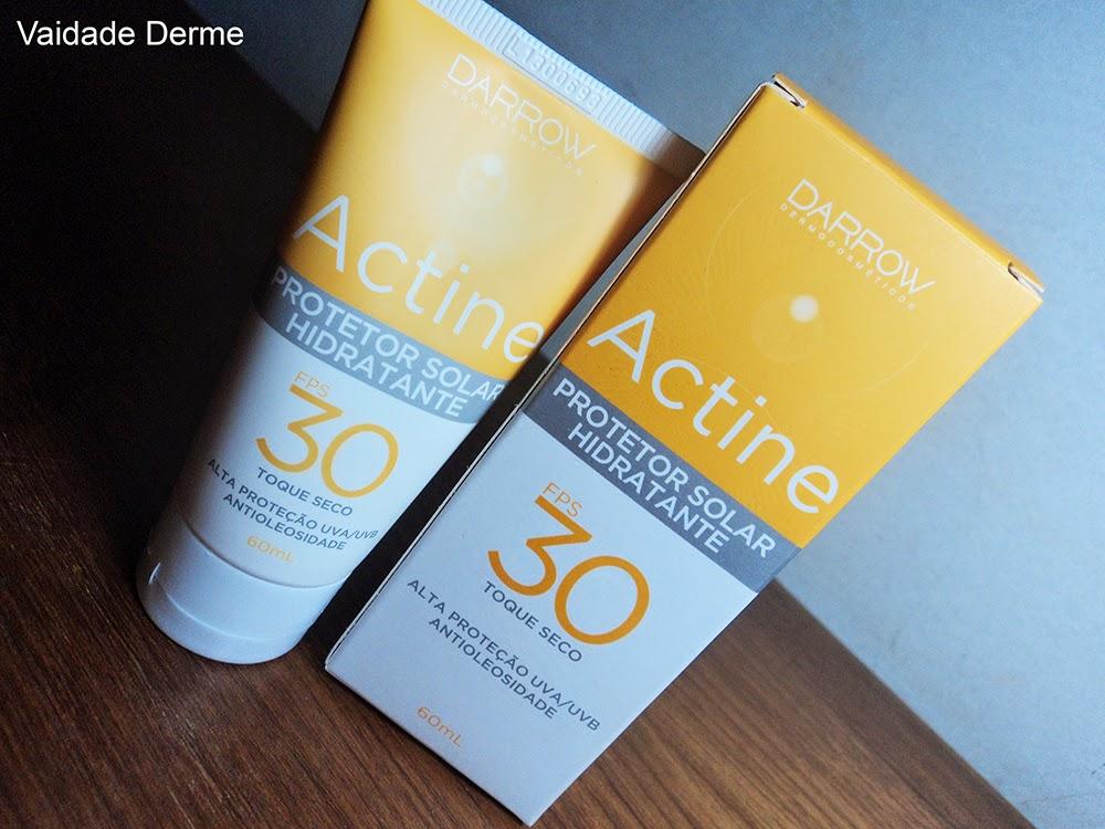 Darrow Actine Protetor Solar FPS 30 Fluido