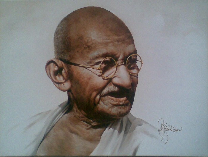 Портреты в стиле реализм. Rajasekharan Parameswaran 5