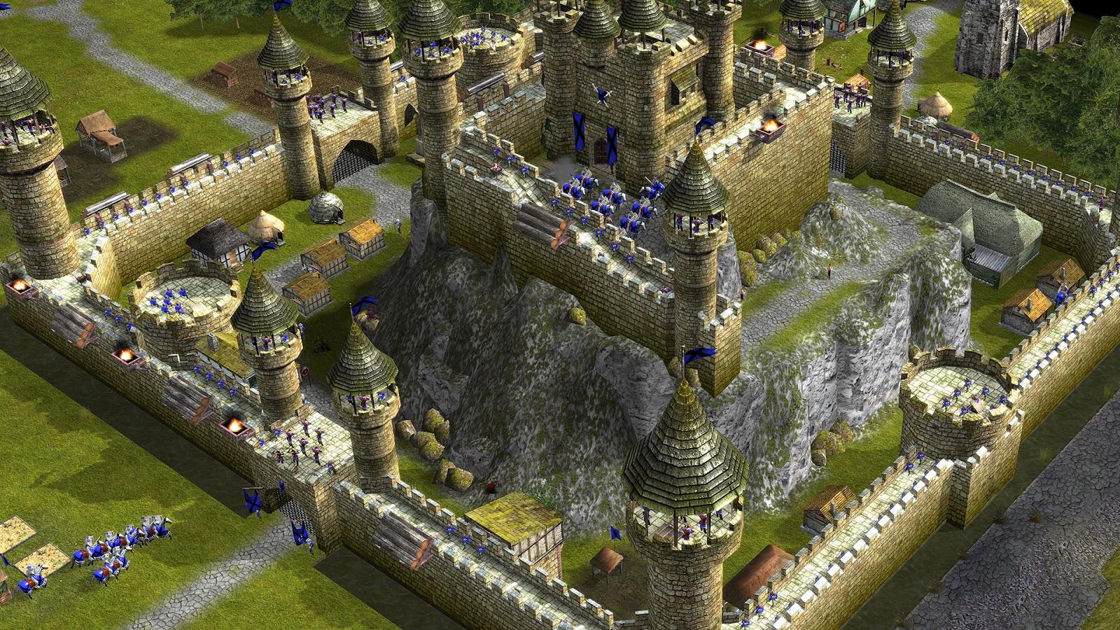 تحميل لعبة stronghold legends كاملة برابط واحد