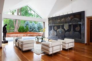foto de sala decorada