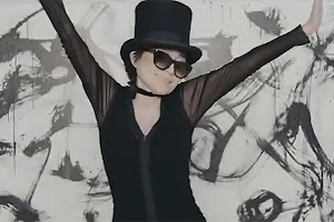 Yoko Ono shot a video for a dance track
