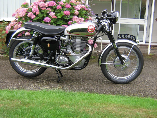 BSA Gold Star Clubman Front look