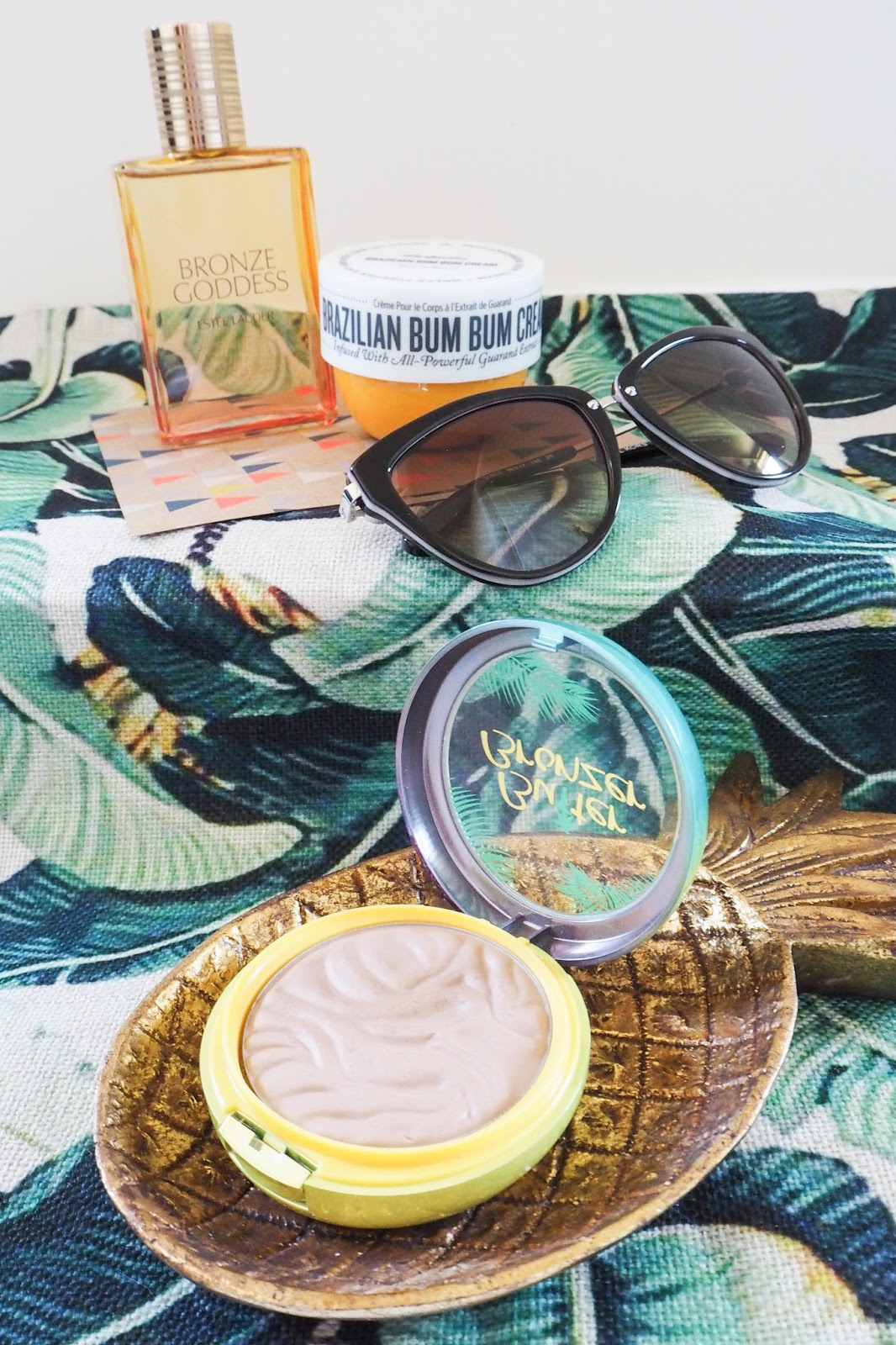 Estee Lauder Bronze Goddess, Brazilian Bum Bum Cream and Butter Bronzer