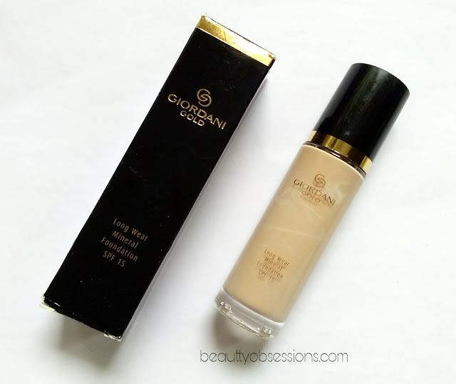 Oriflame Giordani Gold Long Wear Mineral Foundation SPF 15 in shade 'Light Ivory' - Review